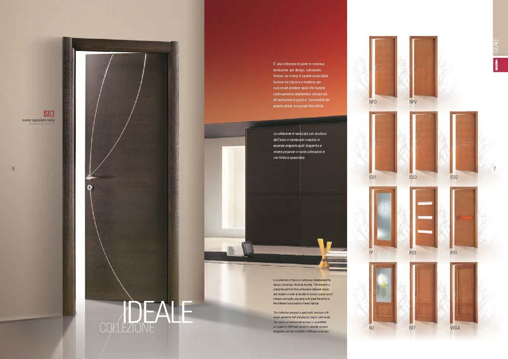 Porte interne le collezioni design qualit e prezzo - Porte interne pail ...