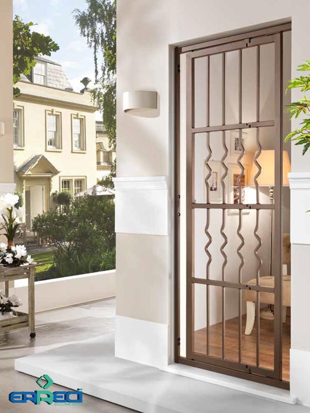 Grate di sicurezza per porte finestre a garbagnate - Grate per finestre villa ...