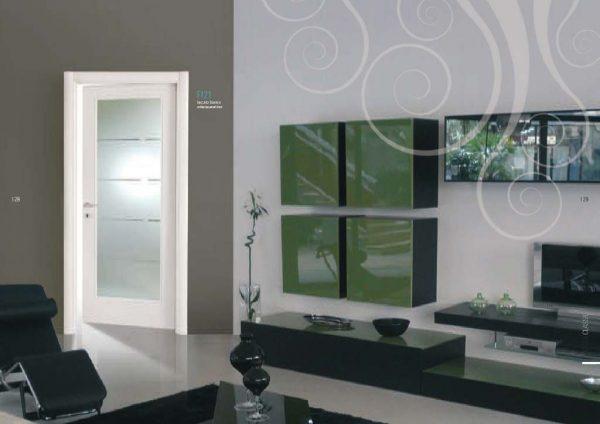 Porte interne con vetro a Milano e Monza da MDB Portas