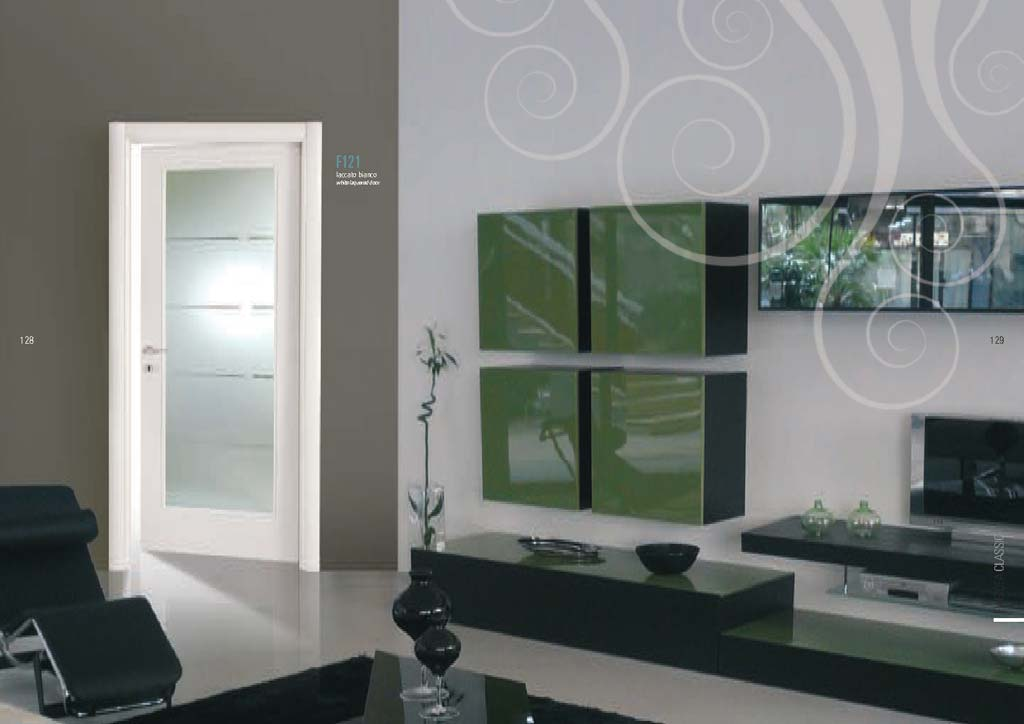 Porte interne con vetro a Milano e Monza da MDB Portas | MDB Portas