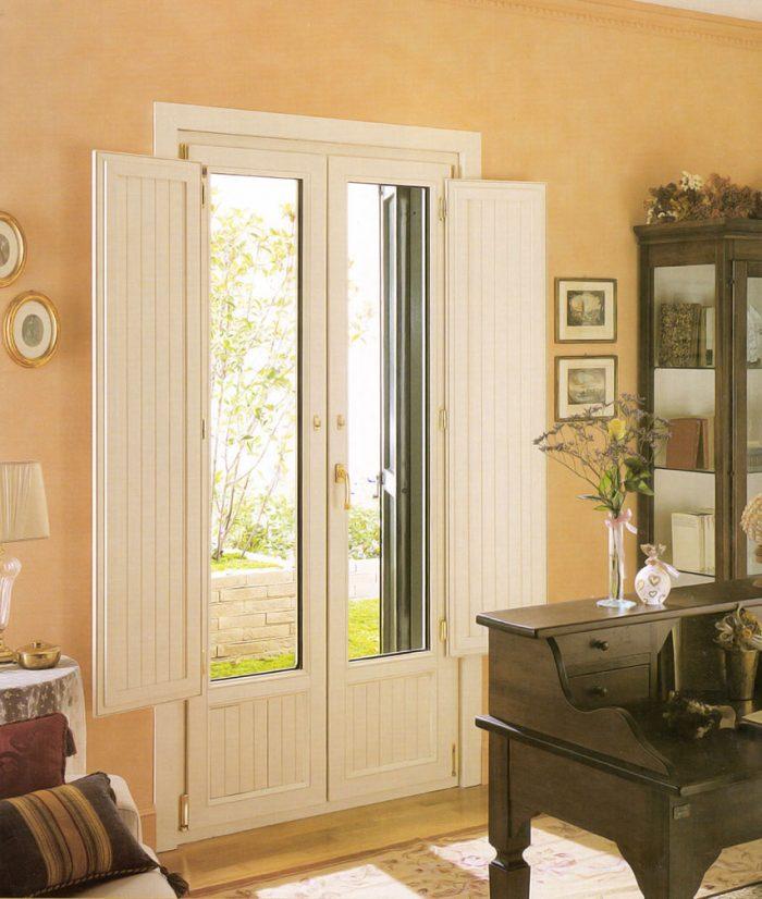 Porta finestra in pvc vecchia milano mdb portas nurith milano - Finestre per interni ...