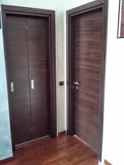 Porta interna a Battente e Libro wengè a MDB Portas Nurith | MDB Portas
