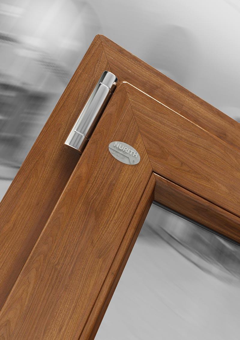 Domus finestra pvc a 1 anta 100x170 effetto vermont mdb portas - Finestre nurith opinioni ...