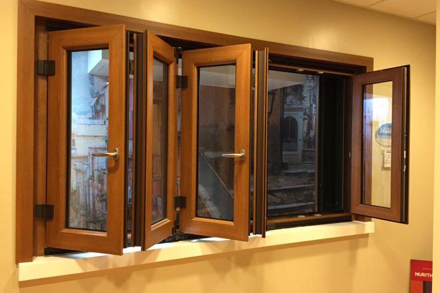 Finestre in pvc scorrevoli da mdb portas nurith a milano - Costo porta finestra pvc ...