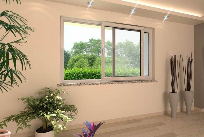 3 finestre in pvc serie domus 3 tapparelle in alluminio for Finestre infissi