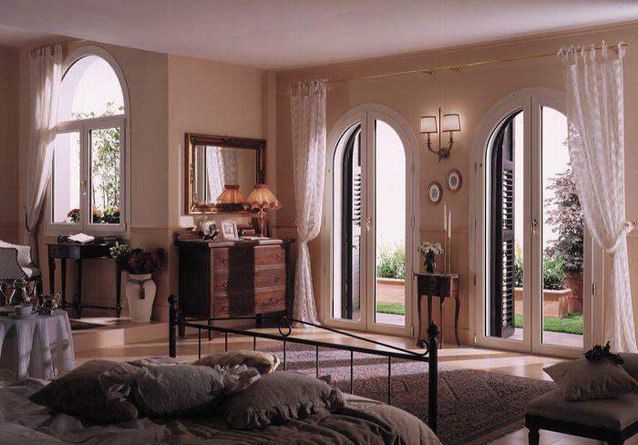 Finestre e porte finestre in pvc ad arco da mdb portas for Mdb portas nurith