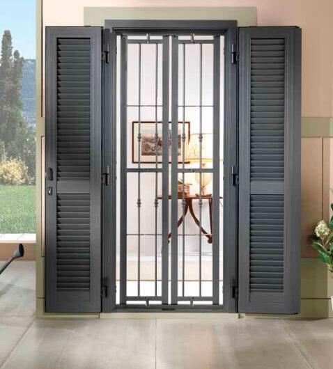 Serramenti porte blindate e interne e grate da mdb portas milano - Grate x finestre ...