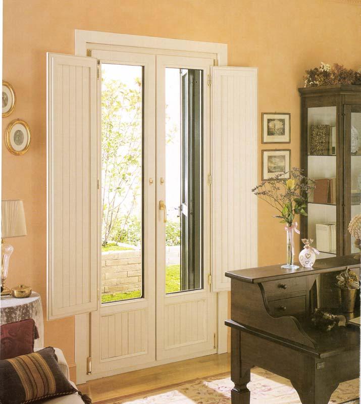 Porta finestra in pvc vecchia milano mdb portas nurith for Finestre pvc con tapparelle
