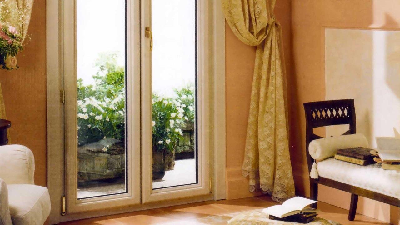 Porta finestra in pvc serie prima mdb portas nurith milano - Sostituzione finestre milano ...