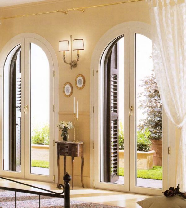Porte finestre in pvc archivi mdb portas - Finestre ad arco ...