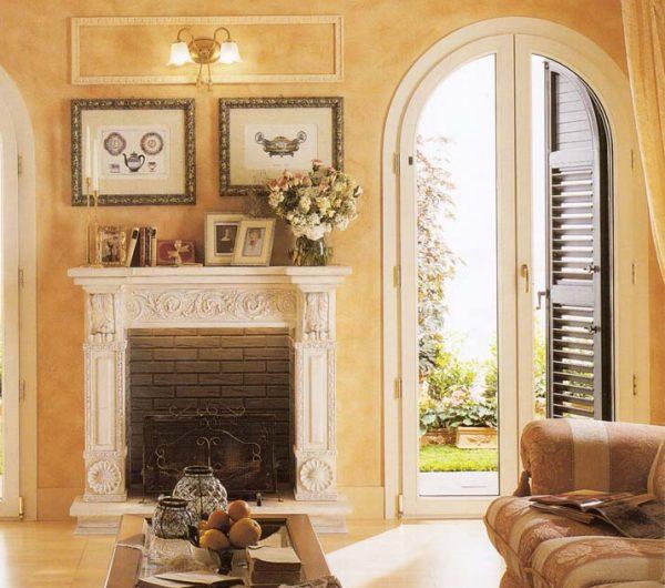 Porta finestra in pvc ad arco mdb portas nurith milano for Mdb portas nurith