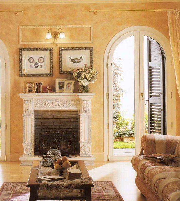 Porta finestra in pvc ad arco mdb portas nurith milano for Finestra usata per ventilazione