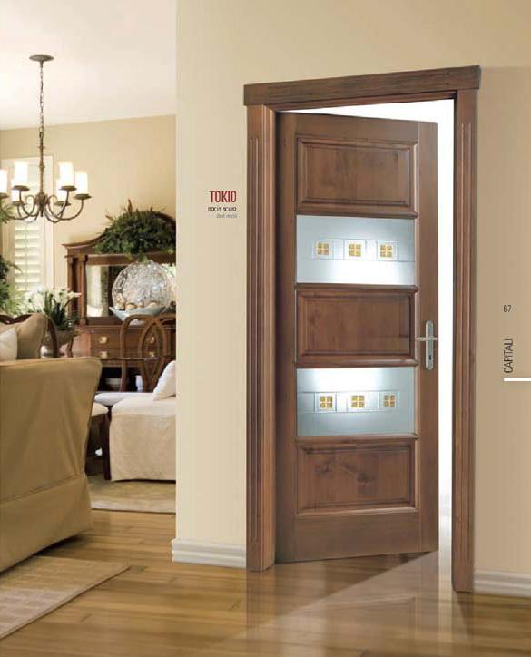 Porte vetro e legno for Porta interna bianca con vetro
