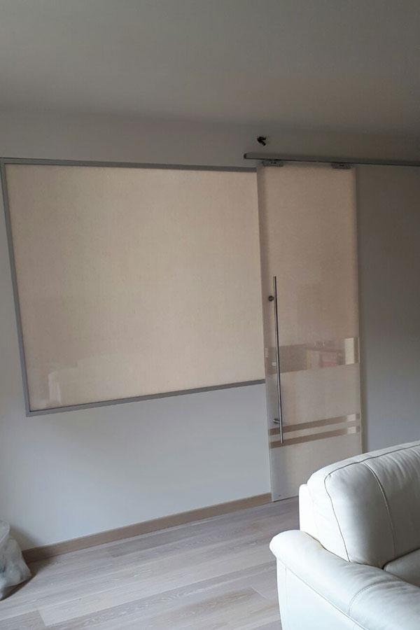 Porte scorrevoli in vetro satinato per Studio Legale a Milano - MDB ...