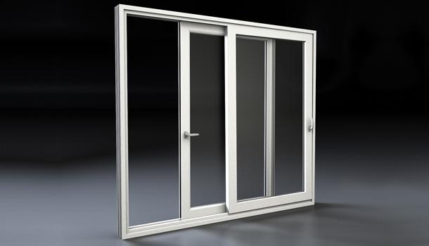 Porte finestre scorrevoli in pvc milano mdb portas nurith for Dimensioni porta finestra