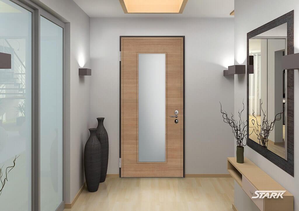Porta blindata e porta interna in monolocale a bareggio milano - Porte interne su misura prezzi ...