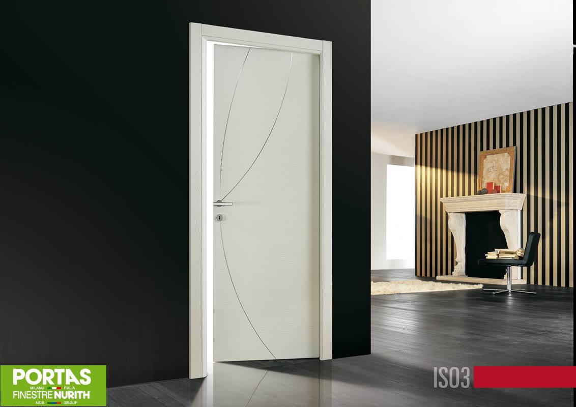 Porte interne a battente e scorrevoli da MDB Portas Milano