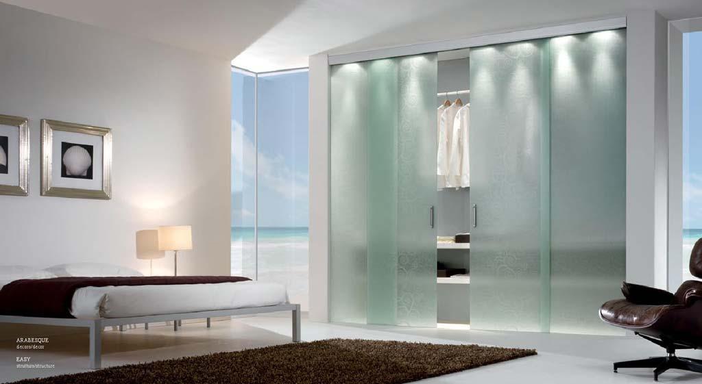 Ante Scorrevoli vetro trasparente - MDB Portas Nurith | MDB Portas